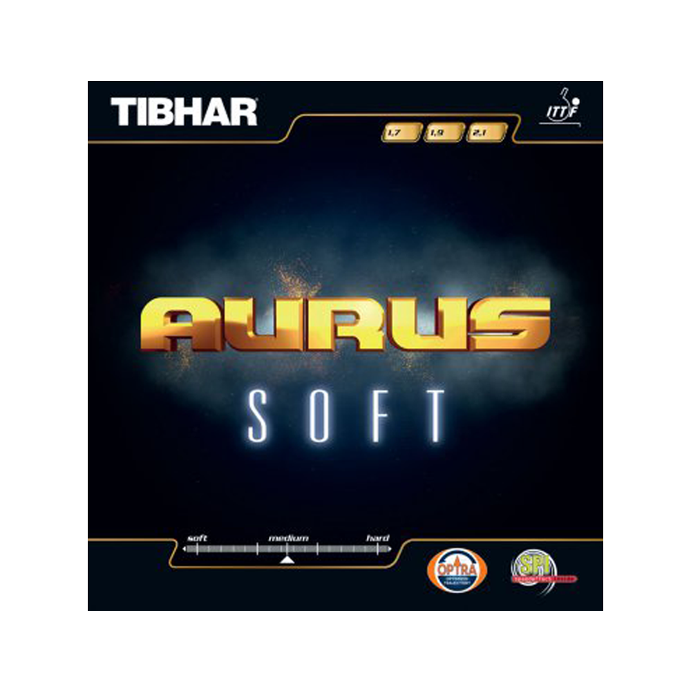 Tischtennis Institut Thomas Dick Tibhar Belag Aurus Soft