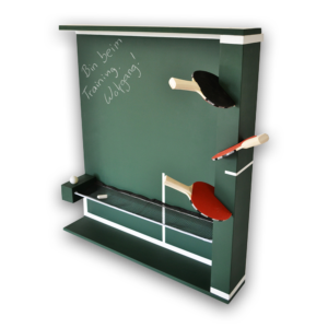 Tischtennis-Möbel (alle handgefertigt als Unikate!)