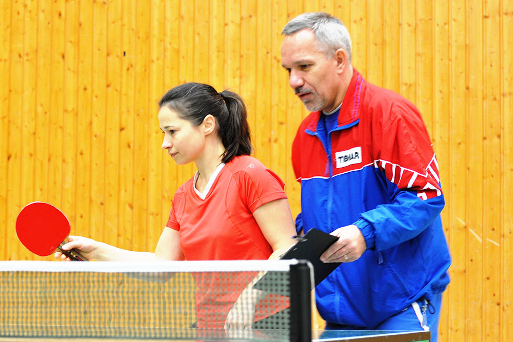 Tischtennis-Institut Thomas Dick - Training
